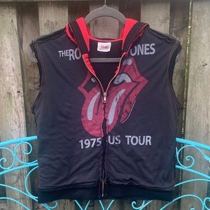 Rolling Stones Thermal Hooded Vest